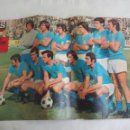 Coleccionismo deportivo: POSTER CENTRAL DE LA REVISTA AS COLOR. REAL OVIEDO 1974-75. FUTBOL. Nº 209. Lote 158616238