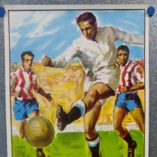 Coleccionismo deportivo: CARTEL FINAL COPA DEL REY ATH. BILBAO F.C. BARCELONA FUTBOL EN EL SANTIAGO BERNABEU MADRID AÑO 1984. Lote 159237358