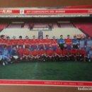 Coleccionismo deportivo: MUNDIAL ITALIA 90 . LOTE DE 23 POSTERS DE LOS JUGADORES DE ESPAÑA. Lote 159603046