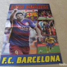 Coleccionismo deportivo: POSTER LUIS SUAREZ FC BARCELONA . Lote 159894966