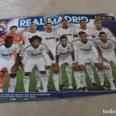 Coleccionismo deportivo: POSTER REAL MADRID 2012/13 REVISTA JUGONES. Lote 160019958