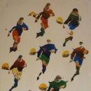 Coleccionismo deportivo: CARTEL:POL BURY. COPA DEL MUNDO DE FUTBOL 1982. OVIEDO - AUTOR:BURY POL (1922 HAINE-SAINT-PIERRE - 2. Lote 160059633