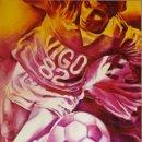 Coleccionismo deportivo: CARTEL:MONORY. COPA DEL MUNDO DE FUTBOL 1982. OVIEDO - AUTOR:MONORY JAQUES (1924 PARIS). Lote 160059641