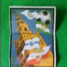 Coleccionismo deportivo: CALENDARIO NACIONAL DE FUTBOL 1° Y 2° DIVISION TEMPORADA 1985 1986 PUBLICIDAD PEGAMENTO IMEDIO. Lote 161444306