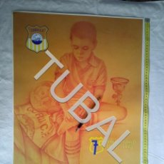 Coleccionismo deportivo: TUBAL CARTEL CORIA CF 75 ANIVERSARIO FUTBOL 1998 HIPOLITO VIANA. Lote 162392986