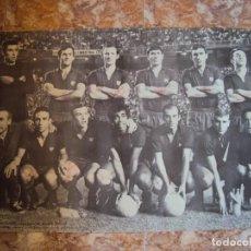 Coleccionismo deportivo: (F-190550)CARTEL C.F.BARCELONA CAMPEON DE ESPAÑA 1967-68 AUTOGRAFOS ORIGINALES. Lote 164114438