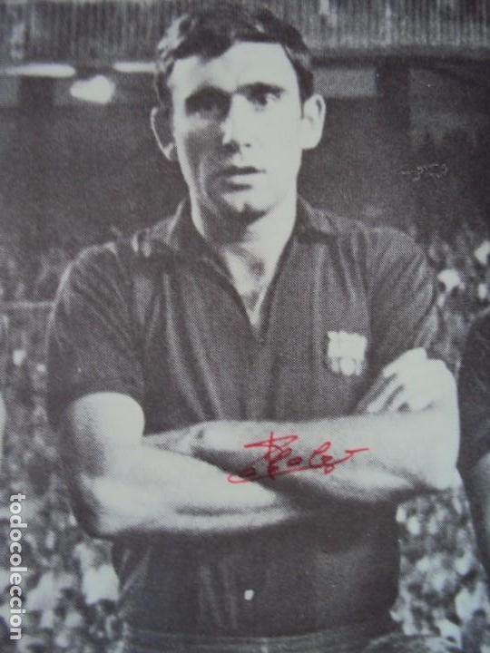 Coleccionismo deportivo: (F-190550)CARTEL C.F.BARCELONA CAMPEON DE ESPAÑA 1967-68 AUTOGRAFOS ORIGINALES - Foto 6 - 164114438