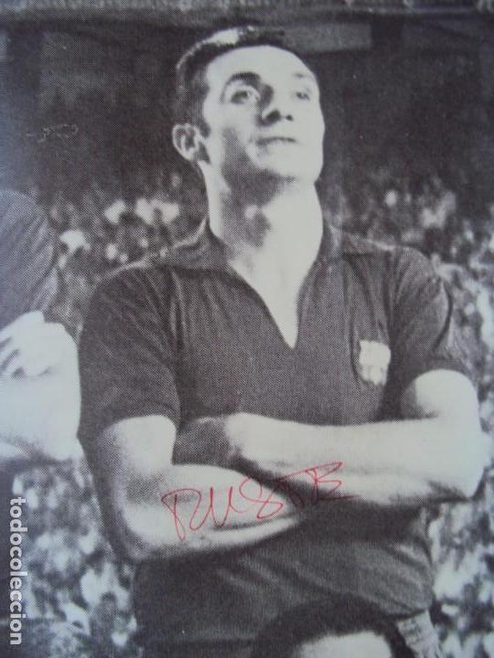 Coleccionismo deportivo: (F-190550)CARTEL C.F.BARCELONA CAMPEON DE ESPAÑA 1967-68 AUTOGRAFOS ORIGINALES - Foto 7 - 164114438