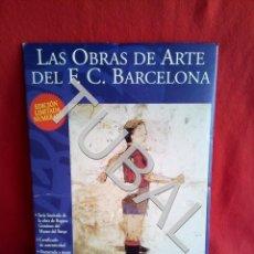 Coleccionismo deportivo: TUBAL LAS OBRAS DE ARTE DEL F.C. BARCELONA REGINA GIMENEZ CENTENARI. Lote 164255318