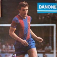 Coleccionismo deportivo: PÓSTER FC BARCELONA HANSI KRANKL JULIO 1979. Lote 166671696