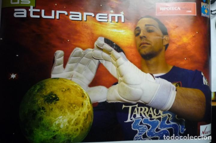 CARTEL PUBLICIDAD FUTBOL NASTIC DE TARRAGONA (Coleccionismo Deportivo - Carteles de Fútbol)