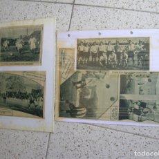 Coleccionismo deportivo: LOTE DE FOTOS DEL PERIODICO LA GACETA DEPORTIVA AÑO 1928 VER FOTOS. Lote 167133496