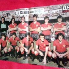 Coleccionismo deportivo: C. A. OSASUNA PRIMERA DIVISIÓN 1980 - 1981 PÓSTER AS COLOR 80-81. Lote 167562901