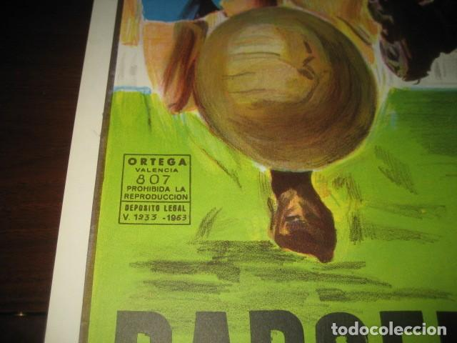 Coleccionismo deportivo: CARTEL POSTER FUTBOL MUNDIAL ESPAÑA 1982. ESTADIO NOU CAMP BARCELONA. ARGENTINA - BELGICA - Foto 7 - 168245312