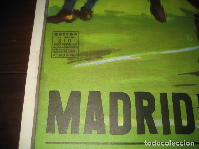 Coleccionismo deportivo: CARTEL POSTER FUTBOL MUNDIAL ESPAÑA 1982. ESTADIO V. CALDERON, MADRID. FRANCIA - AUSTRIA - Foto 7 - 168245564