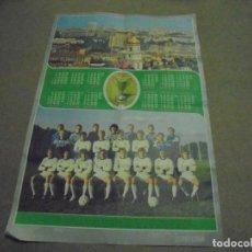 Coleccionismo deportivo: CARTEL SELECCION ESPAÑOLA MUNDIAL 1987 . Lote 168835648