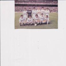 Coleccionismo deportivo: REAL MADRID: RECORTE DE UN EQUIPO DE LA TEMPORADA 89-90. Lote 168898320