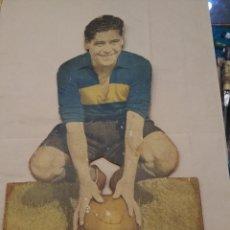 Coleccionismo deportivo: CARTEL FORWARD FAMOSO. ROBERTO CHERRO. JUGADOR DE BOCA JUNIORS. Lote 169008430