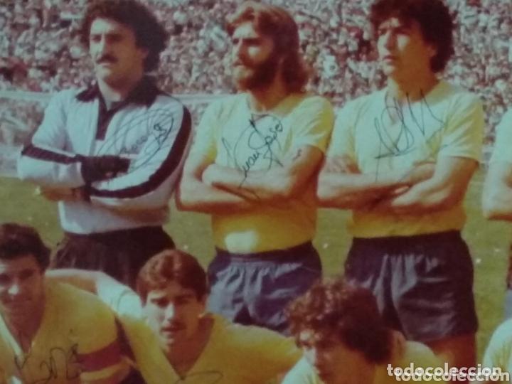 Coleccionismo deportivo: ANTIGUA FOTO DEL CADIZ FIRMA JUGADORES Y DEDICADA 58X50 - Foto 3 - 172253390