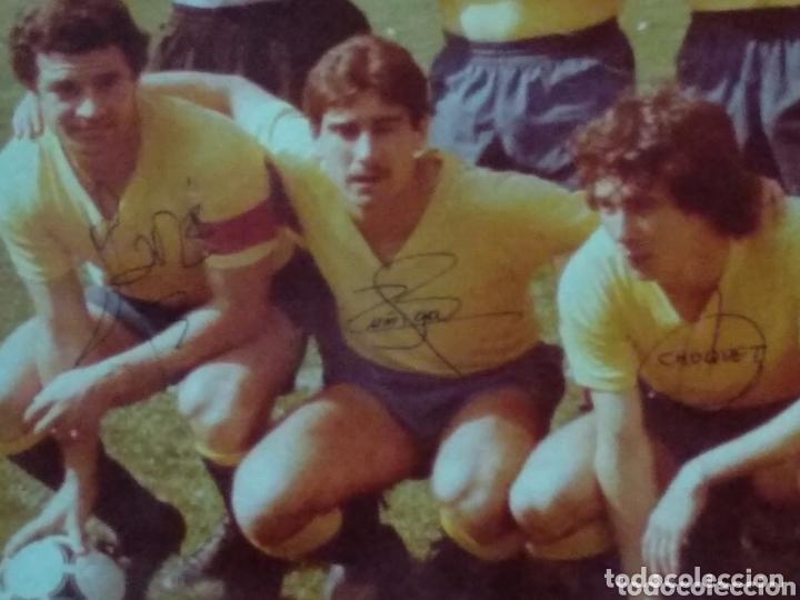 Coleccionismo deportivo: ANTIGUA FOTO DEL CADIZ FIRMA JUGADORES Y DEDICADA 58X50 - Foto 4 - 172253390