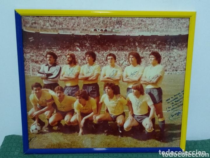 ANTIGUA FOTO DEL CADIZ FIRMA JUGADORES Y DEDICADA 58X50 (Coleccionismo Deportivo - Carteles de Fútbol)