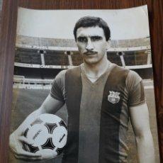 Coleccionismo deportivo: S5. 003. FOTOGRAFÍA HANSI KRANKL. FCB. ADIDAS TANGO.. Lote 174141749