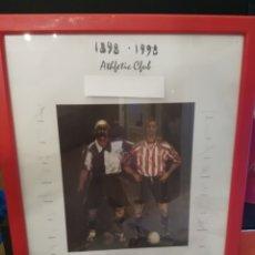 Coleccionismo deportivo: ATHLETIC CLUB 1989-1998 - CUADRO DE FIRMAS. Lote 174997149