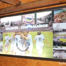 Coleccionismo deportivo: 4 LONAS GIGANTES DEL CELTA DE VIGO CON FOTOGRAFÍAS. Lote 175128592