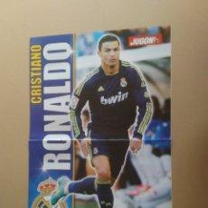 Coleccionismo deportivo: CRISTIANO RONALDO, CR7 (REAL MADRID) - PÓSTER 2 PÁGINAS REVISTA JUGÓN LIGA FÚTBOL. Lote 175143939