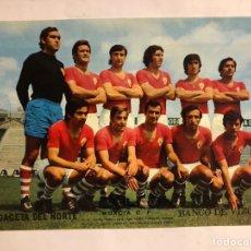Coleccionismo deportivo: MURCIA C.F. POSTER DE LA GACETA DEL NORTE, PRIMEROS AÑOS 70. 33,5 X 48 CMS.. Lote 178249487