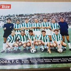 Coleccionismo deportivo: ANTIGUO PÓSTER CÓRDOBA CLUB DE FÚTBOL 1967. Lote 179951303