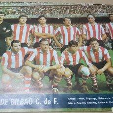 Coleccionismo deportivo: ANTIGUO PÓSTER ATLÉTICO DE BILBAO. Lote 179954465