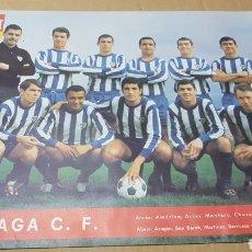 Coleccionismo deportivo: ANTIGUO PÓSTER MÁLAGA CLUB DE FUTBOL. Lote 179954653