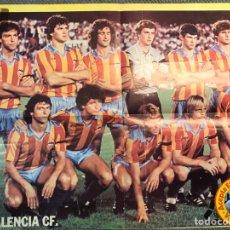 Colecionismo desportivo: VALENCIA C.F. PÓSTER DEL C DE FÚTBOL VALENCIANO (H.1978?) MEDIDAS: 48 X 37 CM.,. Lote 180175996