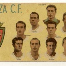 Coleccionismo deportivo: REAL ZARAGOZA CLUB DE FUTBOL TEMPORADA 1954-55 CHOCOLATES BATANGA. Lote 180204266