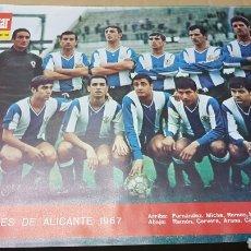 Coleccionismo deportivo: POSTER HERCULES DE ALICANTE 1967. Lote 180244962