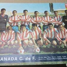 Coleccionismo deportivo: ANTIGUO POSTER GRANADA CLUB DE FUTBOL. Lote 180245030