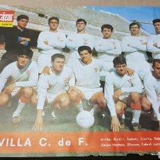 Coleccionismo deportivo: ANTIGUO PÓSTER SEVILLA CLUB DE FUTBOL. Lote 180248515