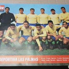 Coleccionismo deportivo: ANTIGUO POSTER UNIÓN DEPORTIVA LAS PALMAS. Lote 180248702