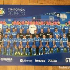 Coleccionismo deportivo: CARTEL POSTER OFICIAL FUTBOL GETAFE TEMPORADA 2019 2020. Lote 181417168