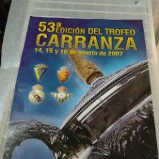 Coleccionismo deportivo: LOTE DE 19 CARTELES F.C. CADIZ. Lote 182079388