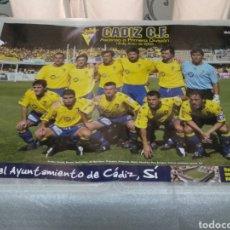 Coleccionismo deportivo: LOTE DE 7 CARTELES F.C. CADIZ. Lote 182079960