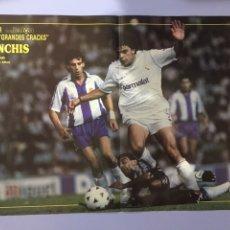 Coleccionismo deportivo: PÓSTER DON BALÓN SANCHÍS. Lote 183600432