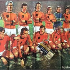 Coleccionismo deportivo: CRUYFF. CRUIJFF. POSTER REVISTA ONZE HOLANDA 77- JAN PETERS (VER FOTOS). Lote 184350005