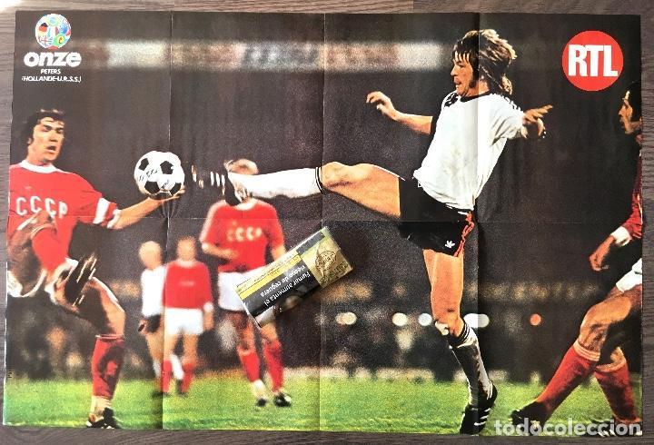 Coleccionismo deportivo: Cruyff. Cruijff. Poster revista ONZE Holanda 77- Jan Peters (ver fotos) - Foto 2 - 184350005