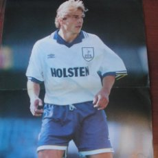 Coleccionismo deportivo: POSTER 1996 - JURGEN KLINSMANN / TOTTENHAM HOTSPURS - SIN USAR / ENVIO GRATIS. Lote 184716875