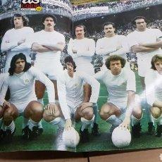 Coleccionismo deportivo: POSTER REAL MADRID LIGA 77-78. Lote 185982267