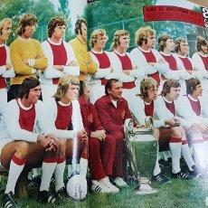 Coleccionismo deportivo: POSTER AJAX DE AMSTERDAN 72-73. Lote 185983227