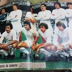 Coleccionismo deportivo: POSTER REAL MADRID 1978. Lote 185983272