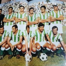 Coleccionismo deportivo: REAL BETIS BALOMPIE 71-72. Lote 185983306